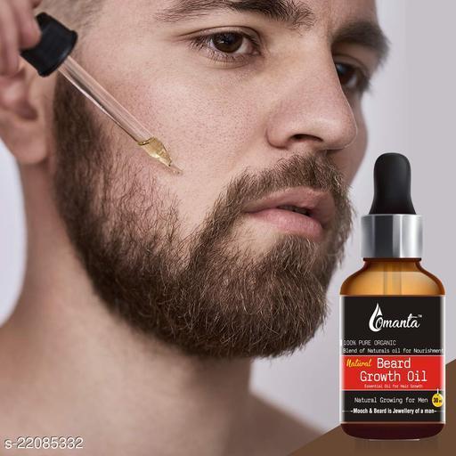 Omanta Natural Beard Oil, Made in India Hair Oil  (30 ml)