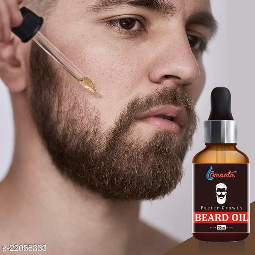 Omanta Faster Beard Oil, Made in India Hair Oil  (30 ml)