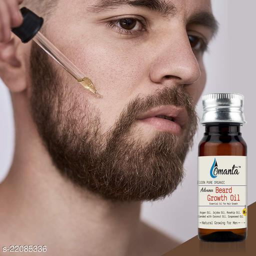 Omanta Advance Beard Oil, Made in India Hair Oil  (35 ml)