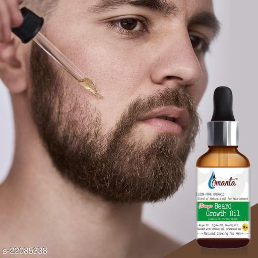 Omanta Stonger Beard Oil, Made in India Hair Oil  (30 ml)