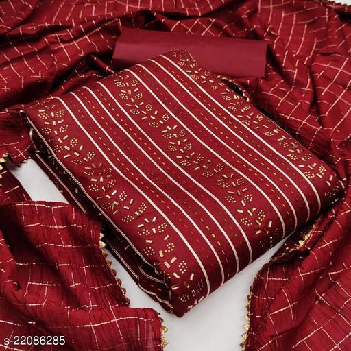 New Women's coton diamond work salwar suit dress material