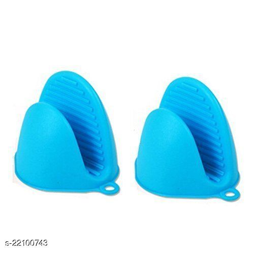 Silicone Pot Holder Heat Resistant, Oven Mitts Glove Cooking Pinch Grips