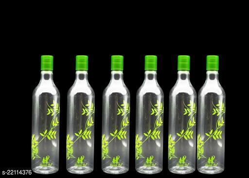 Harsh Pet 1000ml Green GrapeWine Set of 6 Plastic bolttle