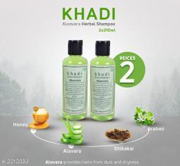 Khadi Aloevera shampoo 420ml ( Pak of 2 )