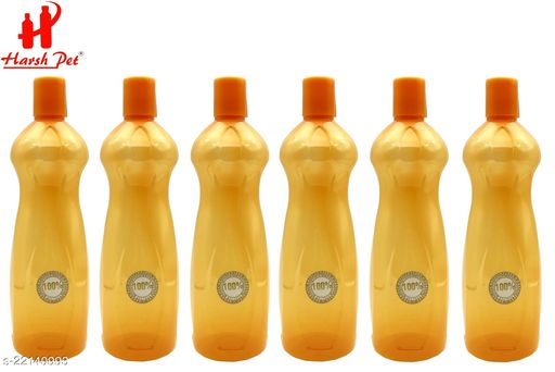 Harsh Pet 1000ml Princess Yellow bottle Set of 6