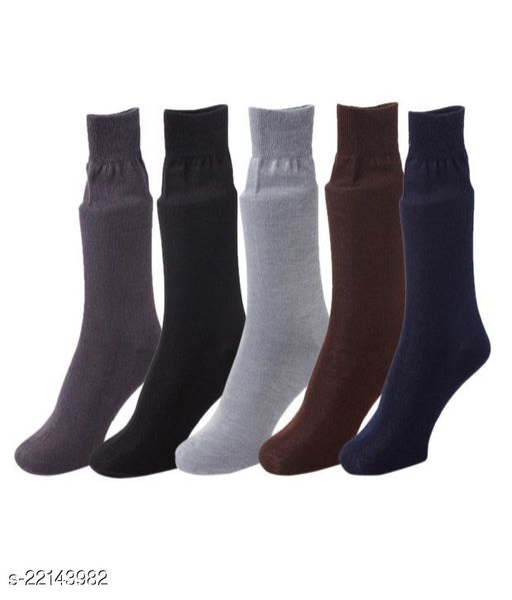 Casual Cotton premium quality mens Full length socks -Pack of 5
