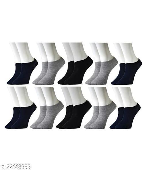 Unisex Lowcut/ crew length socks for men and women-Pack of 12