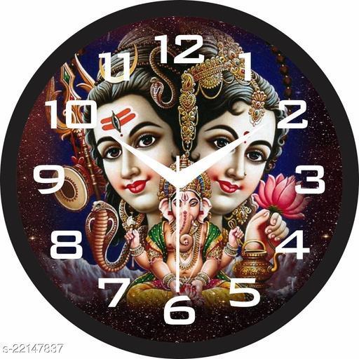 Gudki Plastic Decorativ  Wall clock For living room