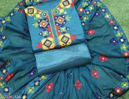 Modern Chanderi Cotton Suit