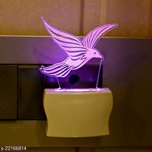 Afast 3D Illusion Flying Eagle LED Plug & Play Wall Lamp