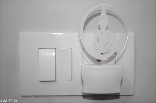 Afast 3D Illusion Lord Buddha LED Night Lamp