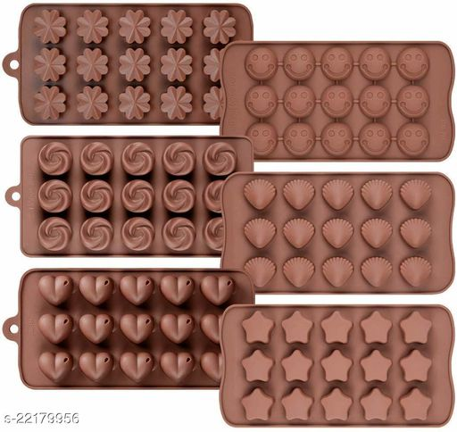 ARNAH TREASURE Silicon Chocolate Molds, Candy Making Silicone Molds, Mini Baking Molds, Non Stick (Pack of 1 pcs.)