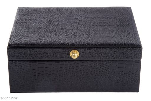 Thylable Vegan leather Jewellery box