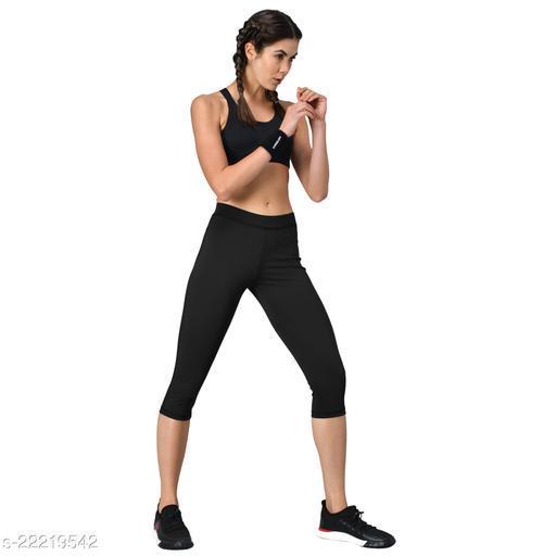 GENSHI Women Three- Fourth Sports Tights