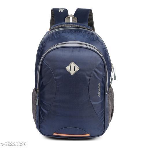 Trendy Men's Blue Nylon Backpacks