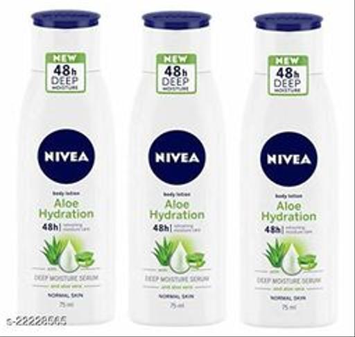 Nivea Aloe Hydration Body Lotion Combo Pack Of 3 (75ml Each)