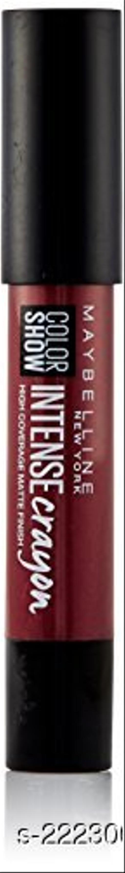 Maybelline New York Color Show Intense Lip Crayon, Dark Chocolate, 3.5g