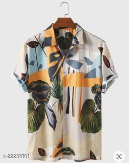 BINDANI STUDIO Premium SLUB Cotton Casual  Shirt  For Men