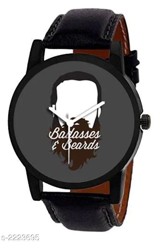 Trendy Analog Men's Watch