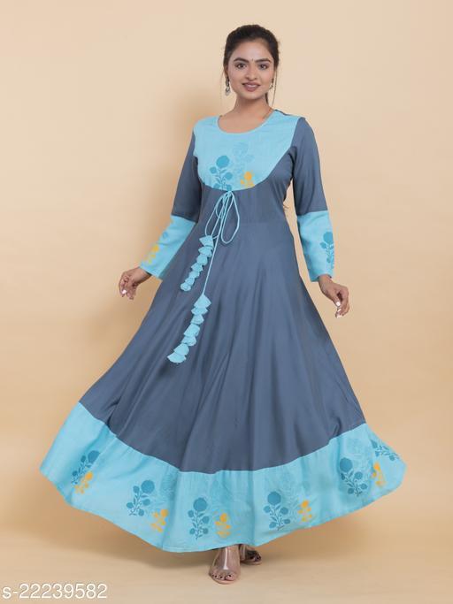 Anarkali kurti for girls and women  Maha Price Drop Sale