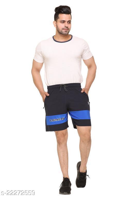 Caracas Summer Lycra Solid Shorts For Men's
