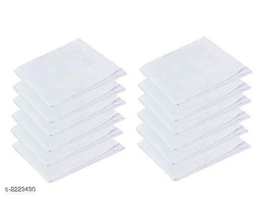 Amazing Cotton Handerchiefs (Pack Of 12)