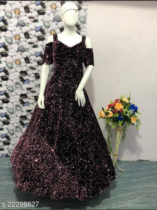 UPHAR Gallery Attractive Women's Cheap Price Gown