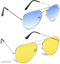 Latest stylist sunglass for men and boys(Pack of 2)