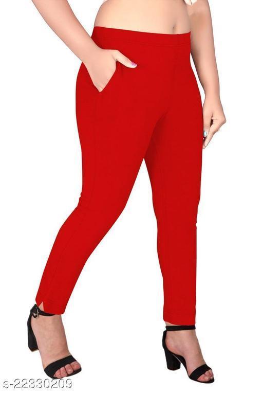 Kreya Fashion 4 Way Stretchable Cotton Lycra Kurti Pant (Cigarette Pant/Pencil Pant)…