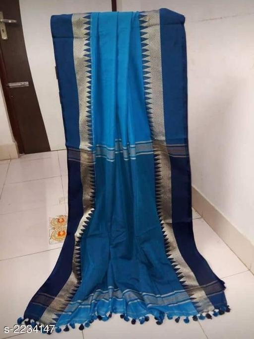 Elegant Khadi Cotton Saree