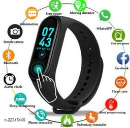 Bluetooth Smart M4-S_S01 Fitness Band With Daily Activity Tracker