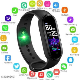 Bluetooth Smart M5-S_S01 Fitness Band With Daily Activity Tracker