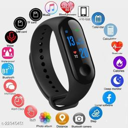 Bluetooth Smart M3-S_S01 Fitness Band With Daily Activity Tracker