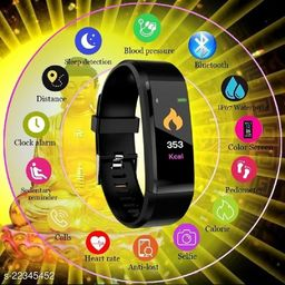 Bluetooth Smart ID115-S_S01 Fitness Band With Daily Activity Tracker