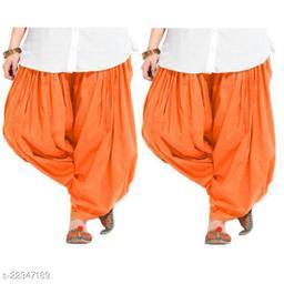 Fashion Guru Trading Cotton Patiala Salwar Pack of 2
