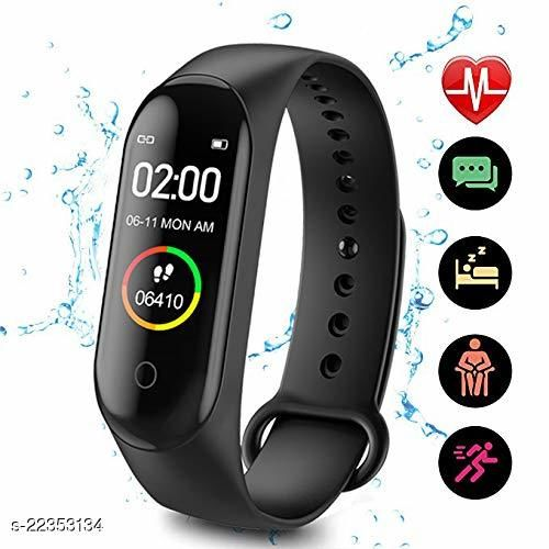 M4-SPL1 Fashion Smart Fitness Band, Activity Tracker, Calories Count, Reminder, Masagess And Notifications Alert for Unisex
