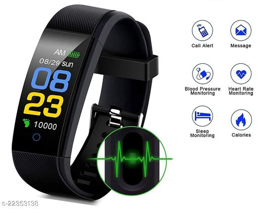 ID115-SPL1 Fashion Smart Fitness Band, Activity Tracker, Calories Count, Reminder, Masagess And Notifications Alert for Unisex