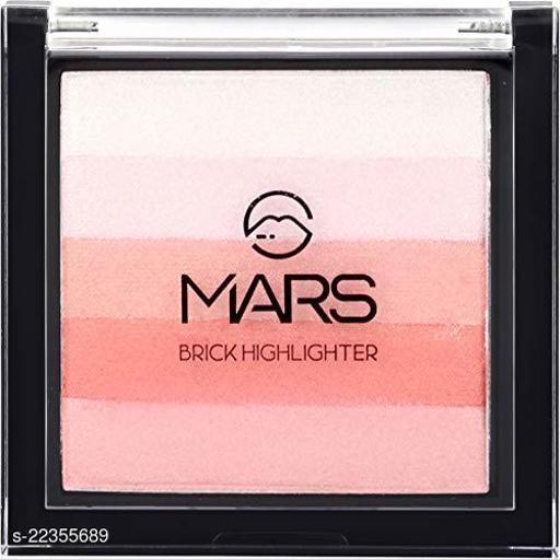 MARS Highlighter Blusher Brick Highlighter (Shade-100)