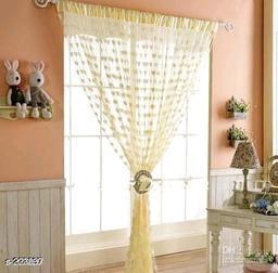 Stylish Polyester Window Curtains (Set Of 2)