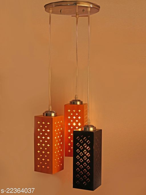 Afast New Designer Pendant Ceiling Lamp, With Colorful Shade & All Fitting Fixture