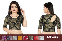 woman's stretchable readymade fancy nick blouse