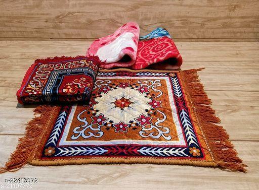 Set of 4 puja mat assan prayer mat