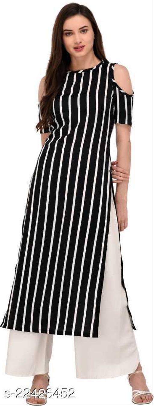 Stylish Straight Striped kurta