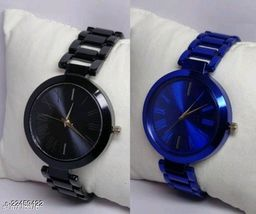 niva Crystal Men Premium Quality Designer Fashion Wrist Analog Watch