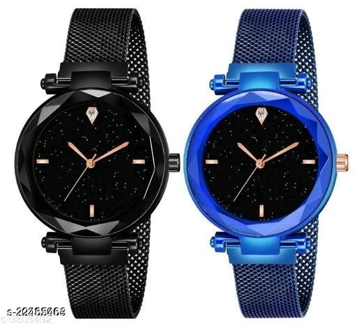 MMD Stylish LOVERS COUPLE WATCH =FOR BOY WATCH AND FOR Analog Watch