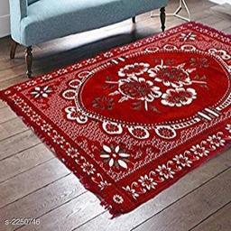 Classy Chenille Living room Carpet