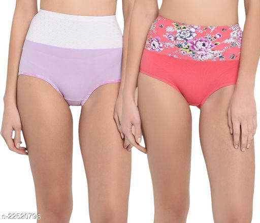 Women Hipster Lavendar Cotton Panty (Pack of 2)