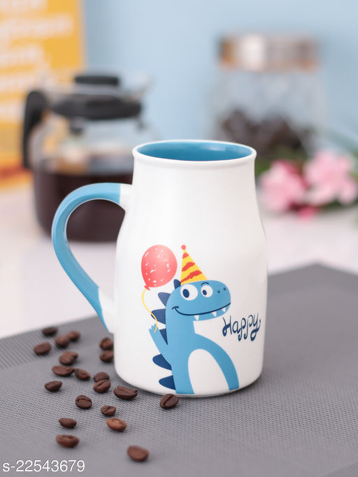 JCPL Fine Porceain Cute emoji/Quoted/Graphical Single Piece Mugs 350 ml Best for your loved ones, for valentines day, birthdays, kitty parties and for your home and offices