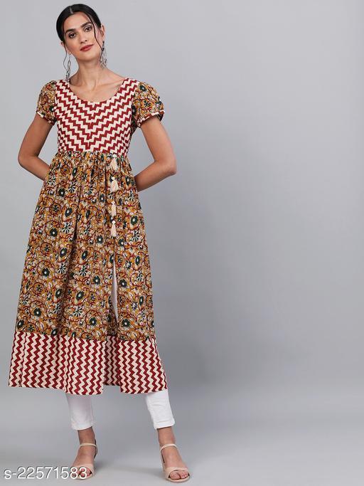 Fancy Cotton Printed Kurtis