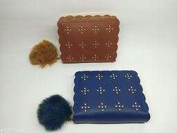 Beautiful Women's Multicolor Leather Wallet